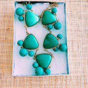 Towne & Reese turquoise Emma  necklace - BNWT